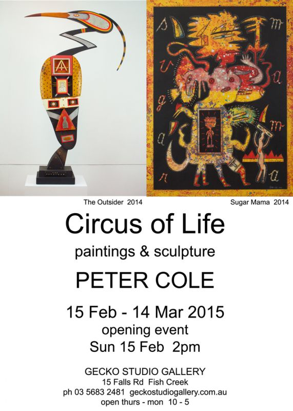 PETER COLE - Circus of Life