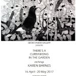 Poster x 1 Karen Barnes - Theres a Currawong in the Garden low res