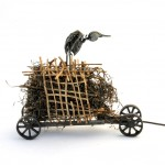Moving the beast - found objects - Jan Learmonth