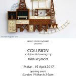 Poster x 1 COLLISION Mark Reyment copy