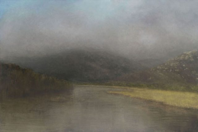 Tidal River - oil painting by Linda Gibbs