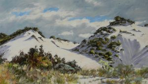 Adrian Johnson - Powlett River Dunes - Oil